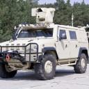 Zbraňová stanica, guľomet 12,7mm na vozidle Iveco LMV