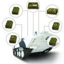 Komponenty interkomunikačného systému COMTAG